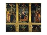 San Zeno Altarpiece Giclee Print by Andrea Mantegna