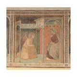 Annunciation, 1345 Giclée-tryk af Pietro Lorenzetti