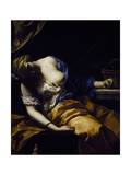 The Death of Cleopatra Giclee Print by Antoine Rivalz