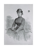 Lady Florence Dixie, Published 1877 Giclee Print by Andrew Maclure