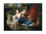 Chaste Susanna, 1751 Giclée-tryk af Pompeo Batoni