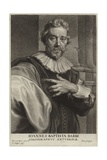 Portrait of Jean-Baptiste Barbe Giclee Print by Sir Anthony van Dyck