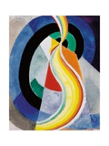 The Helix, 1923 Giclée-tryk af Robert Delaunay
