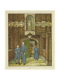 Christ's Hospital in Greyfriars Giclee Print by Thomas Crane