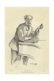Edouard Lalo, French Composer Giclee Print by Paul Mathey
