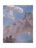 The Assumption, Fresco Giclee Print by Domenico Morelli