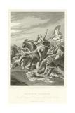 Battle of Tolbiacum Giclee Print by Alphonse Marie de Neuville