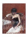 Study of Woman with the Bust Giclee Print by Giuseppe De Nittis