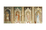 Theory of Saints, Fresco Giclee Print by Paolo Uccello