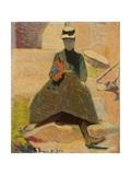 Woman at Saint-Briac, 1886 Giclee Print by Emile Bernard
