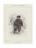 Enfants Perdus Giclee Print by Charles Albert d'Arnoux Bertall