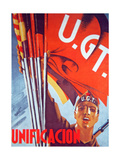 'Unification', Republican Poster, 1937 Giclee Print