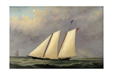 The Yacht 'America', 1851 Giclee Print by Arthur Wellington Fowles