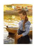 Reflections of Summer Giclee Print by Carl Wilhelm Wilhelmson
