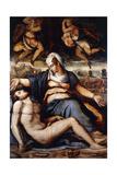 The Pieta, C.1542 Giclée-Druck von Giorgio Vasari