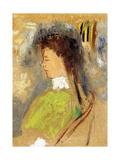 Violette Heymann, C.1910 Giclee Print by Odilon Redon