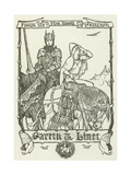 Gareth and Linet Giclee Print by Henry Justice Ford