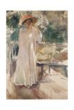Clotilde in Her Garden, 1910 Giclee-vedos tekijänä Joaquín Sorolla y Bastida