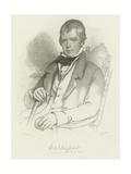 Sir Walter Scott Giclee Print by Charles Robert Leslie