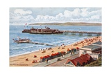 The Pier, Bournemouth Giclee Print by Alfred Robert Quinton