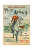 Paris to London Giclee Print
