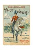 Paris to London Giclee Print