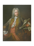 Portrait of George Frederick Handel Giclee Print by Thomas Hudson