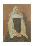 Mother Marie Poussepin Giclee Print by Gwen John