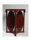 Secession-Style Table, Ca 1905 Reproduction procédé giclée par Koloman Moser