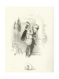 Two Gentlemen of Verona, Act IV, Scene II Giclee Print by Joseph Kenny Meadows