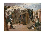 Battlefield in Western Flanders Giclee Print by Felix Schwormstadt