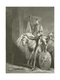 King Henry V, before Harfleur Giclee Print by Richard Westall