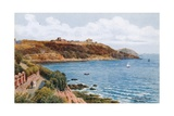 Pendennis Point, Falmouth Giclee Print by Alfred Robert Quinton