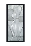 Relief H. Abstract Figure, 1919 Giclee Print by Oskar Schlemmer