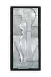 Relief H. Abstract Figure, 1919 Giclee Print by Oskar Schlemmer