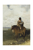 The Sioux Brave, 1882 Giclee Print by George de Forest Brush