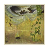 Spider, Fly and Bee Giclee Print by Ernest Henry Griset