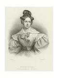 Henrietta, Madamoiselle Sontag Giclee Print by Henri Grevedon