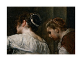 The Tale of Arachne Giclee Print by Diego Rodriguez de Silva y Velazquez