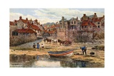 The Shipway, Robin Hood's Bay Giclee Print by Alfred Robert Quinton