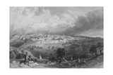Jerusalem, from the Mount of Olives Giclee Print by Thomas Allom