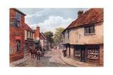 Old Herne Village, Nr. Herne Bay Giclee Print by Alfred Robert Quinton