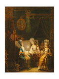 Zémire and Azor, Opera by Marmontel, 1788 Giclee Print by Antoine Francois Saint-aubert