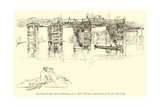 Old Putney Bridge Giclee Print by James Abbott McNeill Whistler