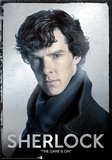 Sherlock - Close Up Foil Poster Print