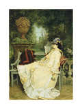 In the Garden, 1872 Giclee Print by Auguste Toulmouche