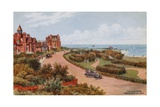 The Gardens, Westgate-On-Sea Giclee Print by Alfred Robert Quinton