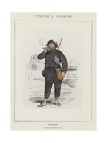 Federes, Menilmontant-Charonne Giclee Print by Charles Albert d'Arnoux Bertall