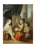 The Four Arts - Painting Giclee Print by Carle van Loo