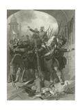 Relief of Lucknow by Sir Henry Havelock, 1857 Giclee Print by Alonzo Chappel